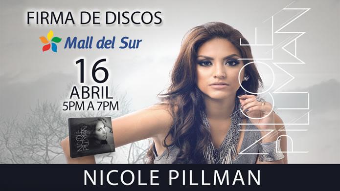 Firma de Discos en Mall Del sur