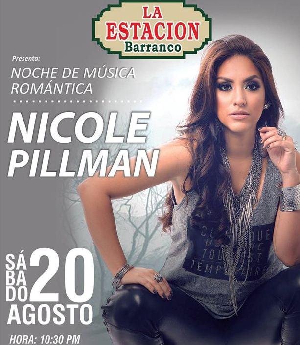 Nicole Pillman en Concierto – Estación de Barranco