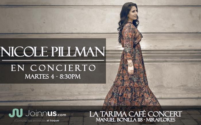 Nicole Pillman en La Tarima