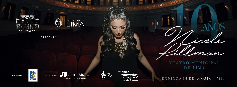 Nicole Pillman en el Teatro Municipal de Lima