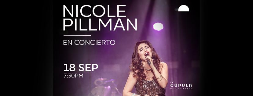 Nicole Pillman En Concierto – La Cúpula de las Artes
